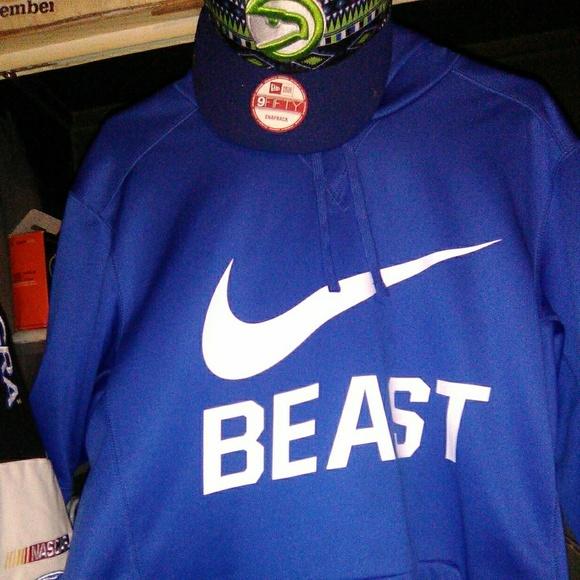 n back beast NWT new snap Nike hoodie era WE9D2IHY